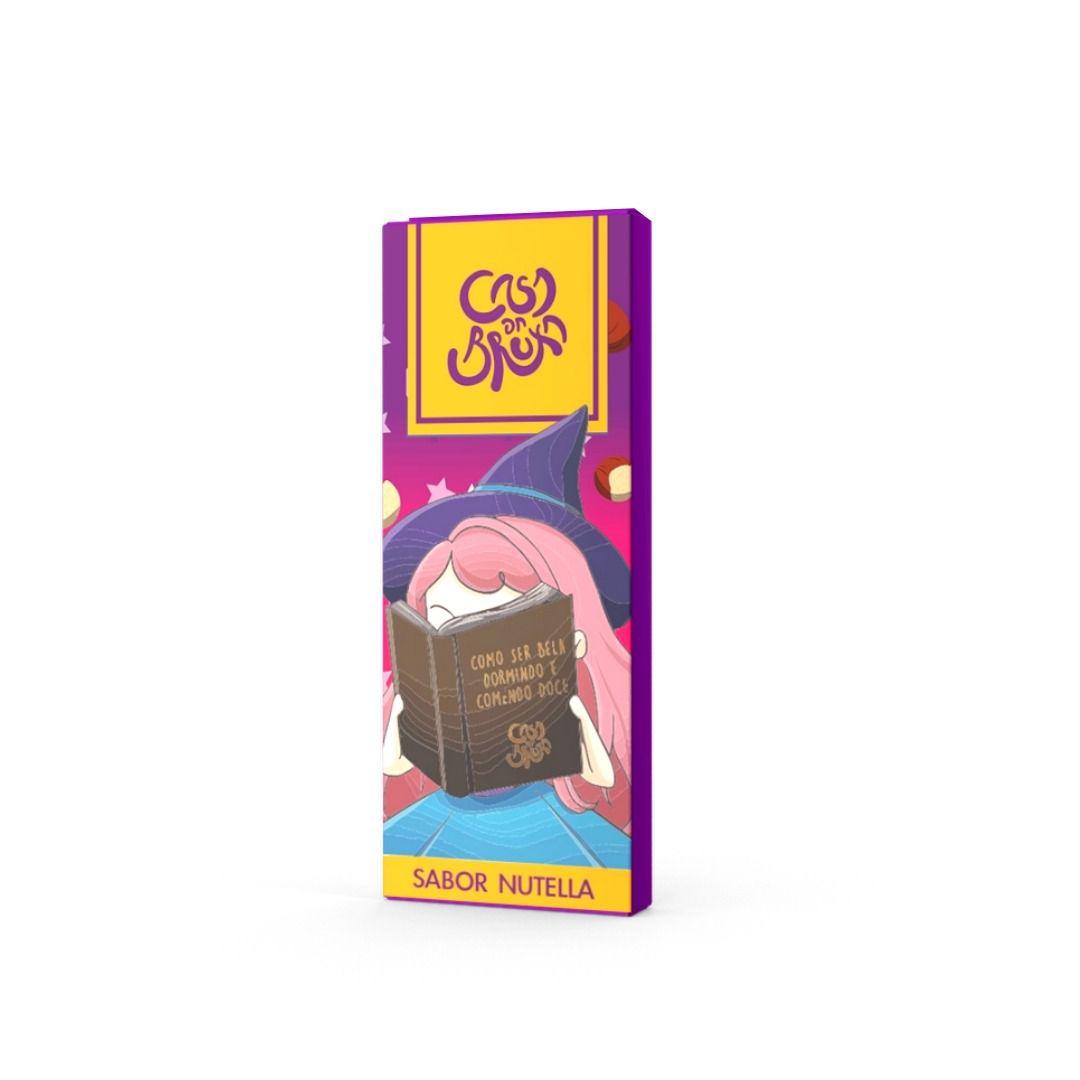 Chocolate ao Leite com Nutella Casa da Bruxa