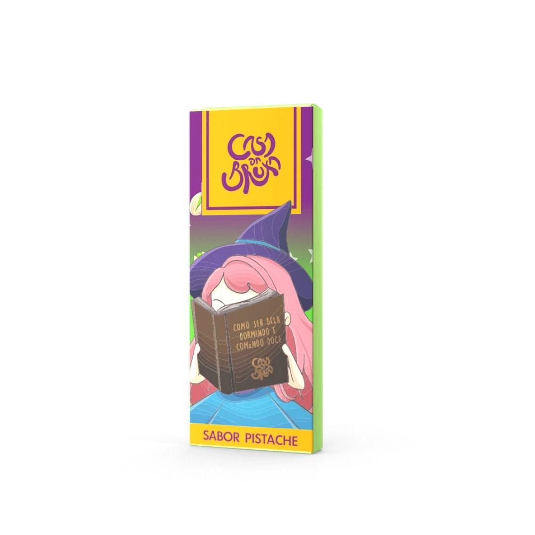Chocolate ao Leite com Pistache ATACADO  - 18 unidades