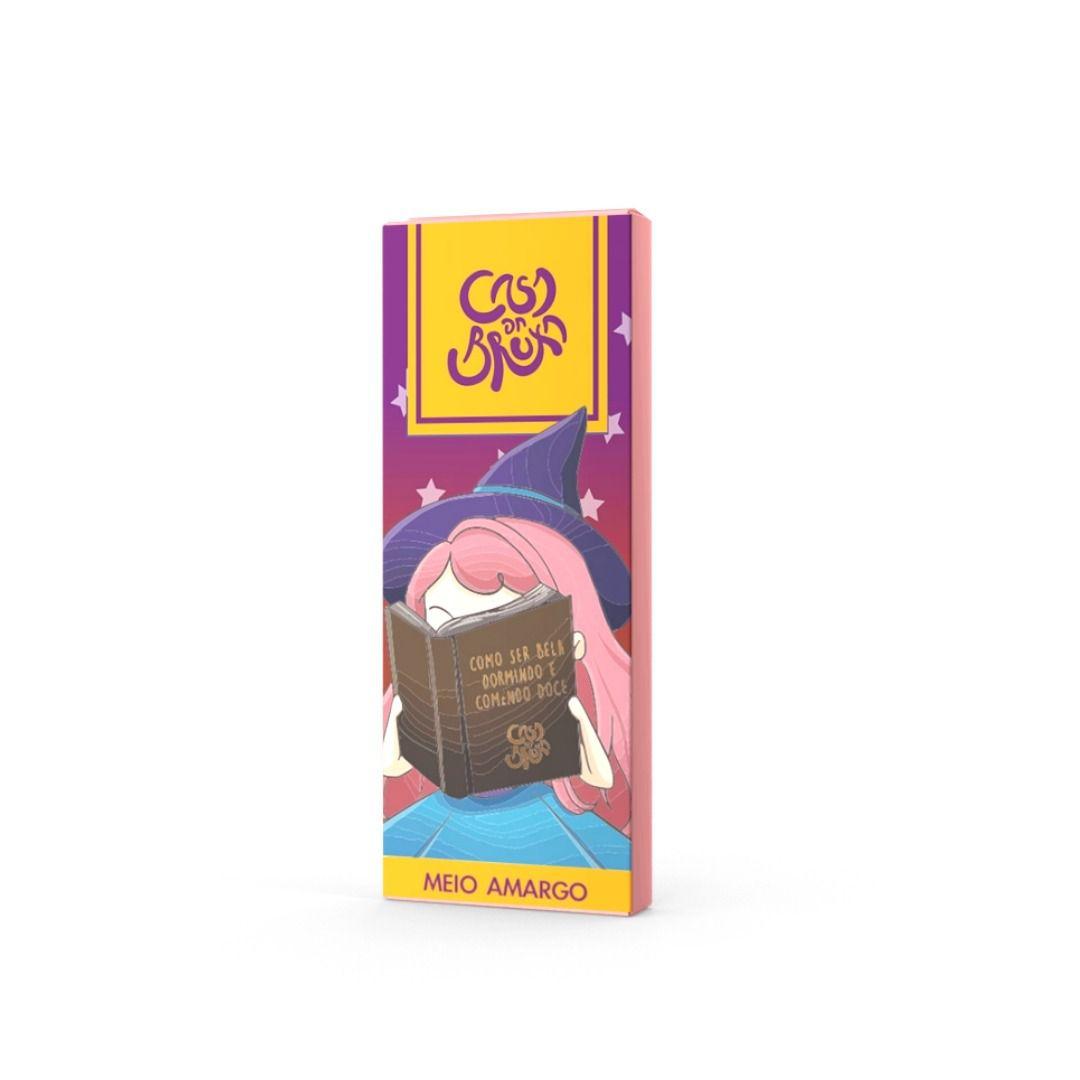 Chocolate ao Leite Meio Amargo Casa da Bruxa