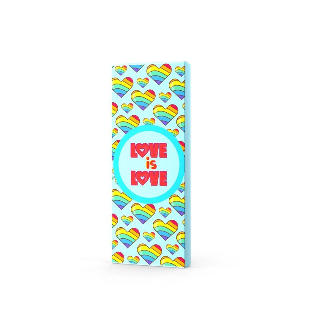 Chocolate ao Leite Love is Love ATACADO  - 24 unidades
