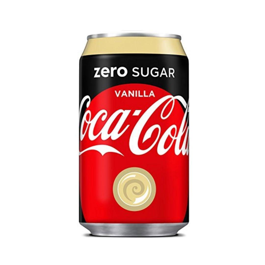 Coca Cola Zero Vanilla 330ml