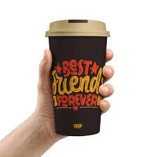Copo para viagem Best Friends Forever