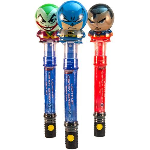 Dc Justice League Light-Up Candy Spray