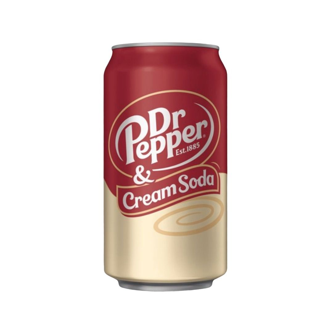 Dr Pepper Cream Soda 355ml