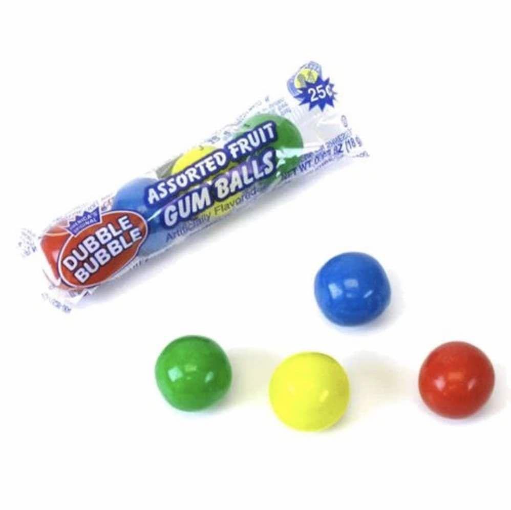 Dubble Bubble Ball Tube