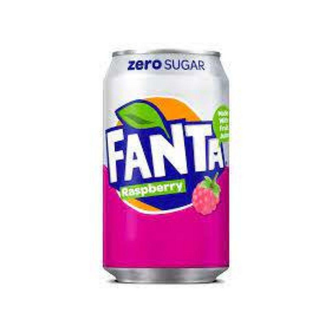 Fanta Zero Raspberry 330ml