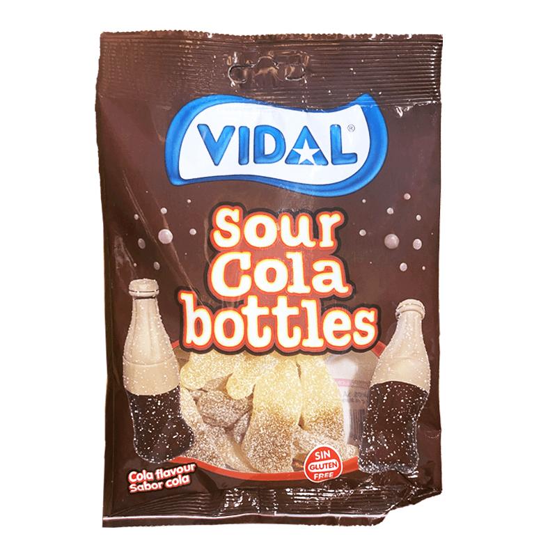Gomas Bottles Cola Sour 100g