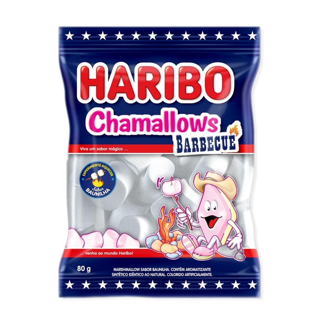 Haribo - Chamallows Barbecue 80gr