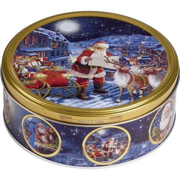 Jacobsen Lata de Biscoitos  Amanteigados Nostalgic Santa Claus  150gr