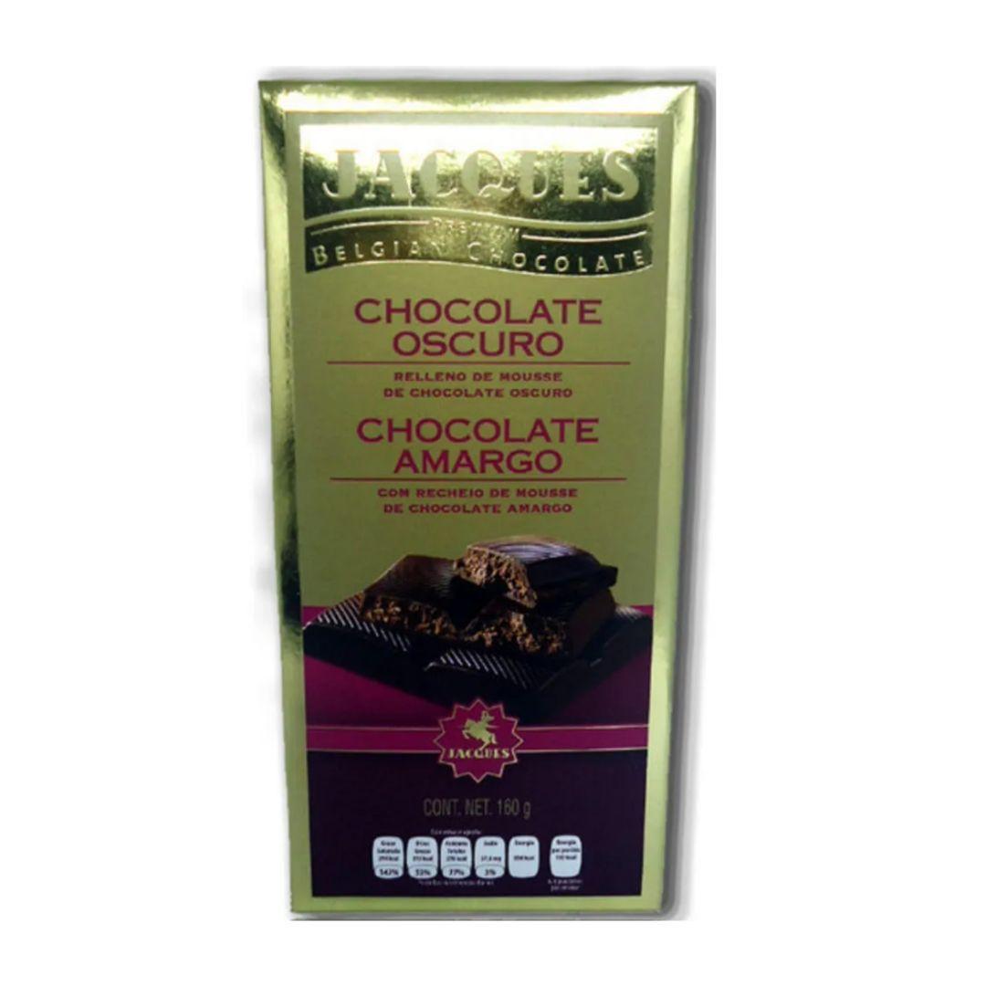 Jacques Chocolate Amargo com chocolate escuro 200gr