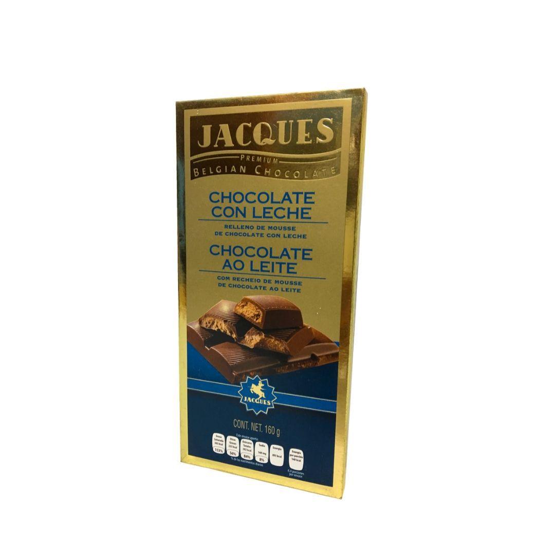 Jacques Chocolate Suiço ao Leite com Recheio de Leite 160gr