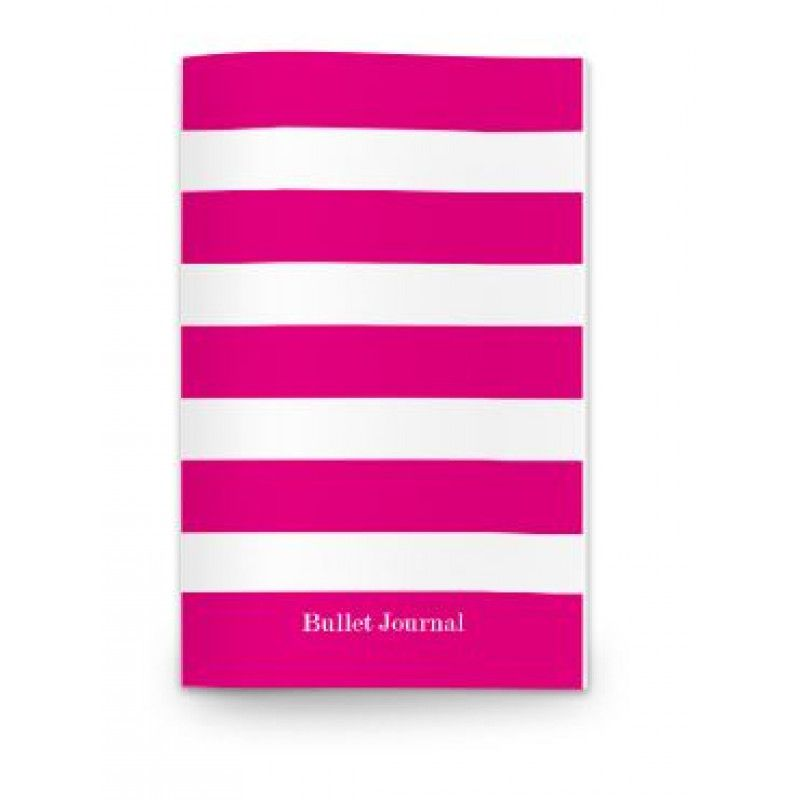 Journall Planner Stripes - Pink