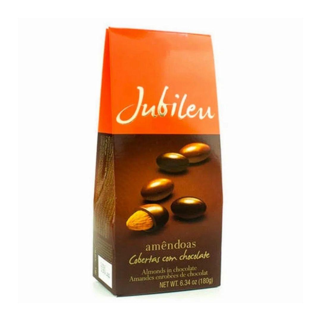 JUBILEU - Chocolate Ao Leite com Amêndoas 180gr