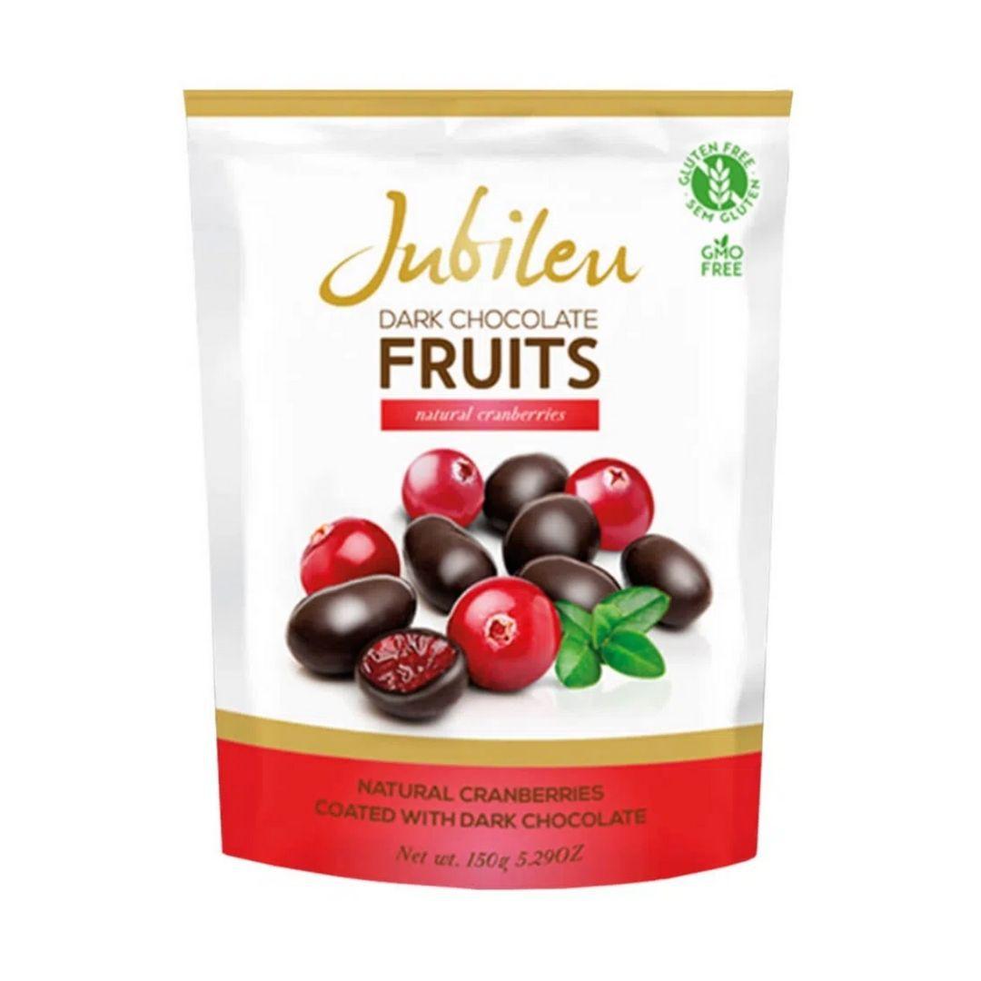 JUBILEU - Chocolate Escuro e Cranberry 180gr