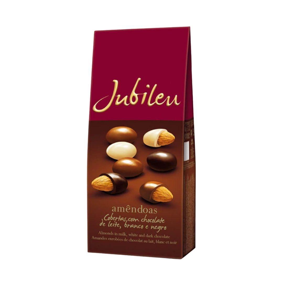 JUBILEU - Chocolate Mix Amêndoas Cobertas ao Leite 180gr
