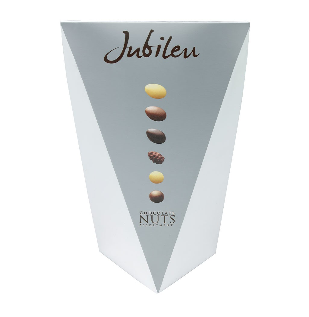 JUBILEU - Chocolate Nuts Assorted180gr