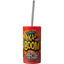 Kandy Ka-Boom Sour Cherry Popping Candy 16g