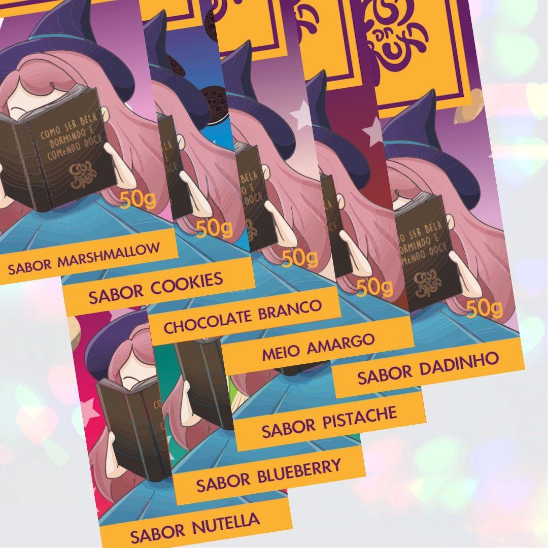 Kit Chocolates Casa da Bruxa