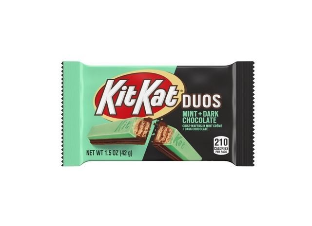 Kit Kat Duos Chocolate Meio Amargo e Menta 42g