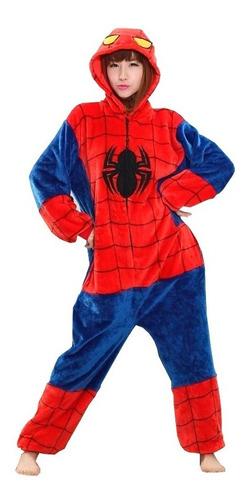 Macacão Kigurumi Spiderman