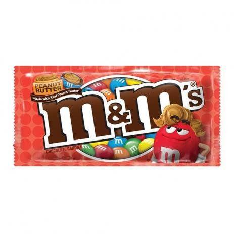 M&M'S CHOCOLATE COM PEANUT BUTTER (MANTEIGA DE AMENDOIM)
