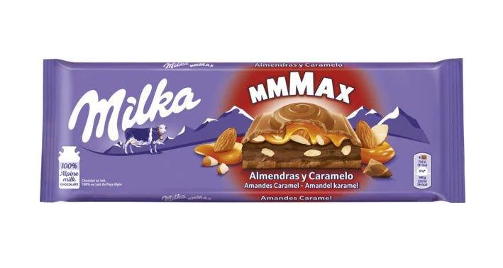 Milka Almendras y Caramelo 300g