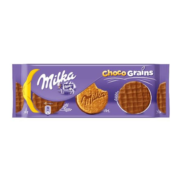 Milka Biscoito Choco Grain 126gr