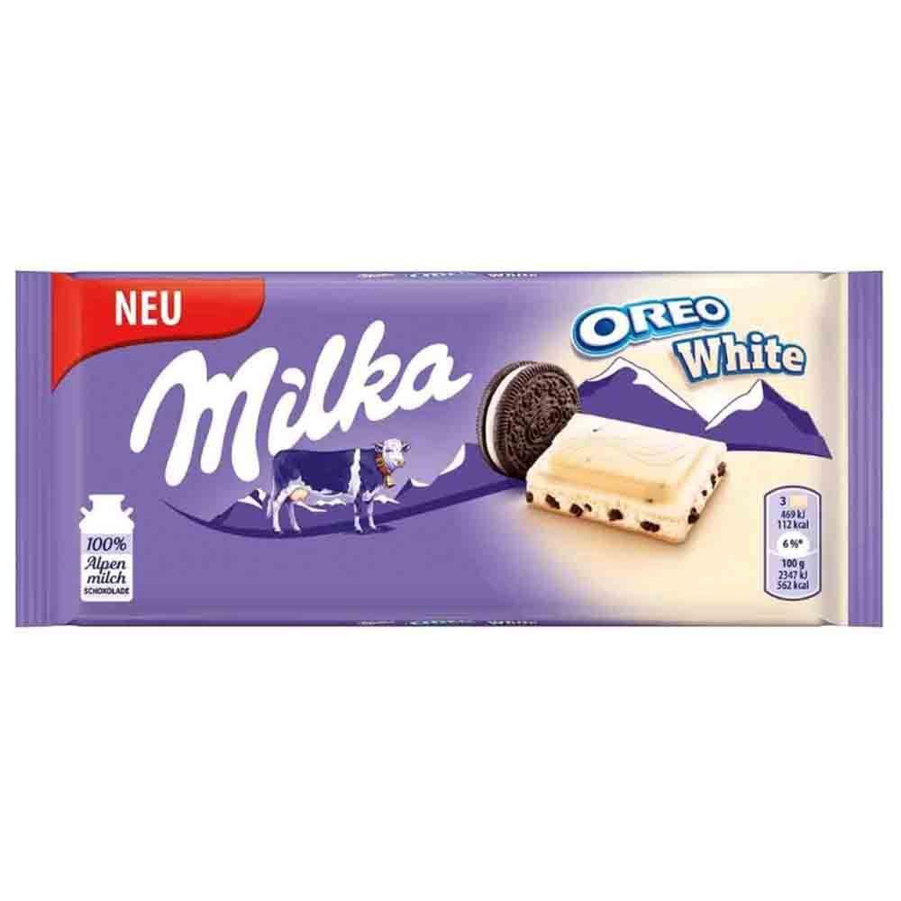 Milka Branco Oreo 100gr