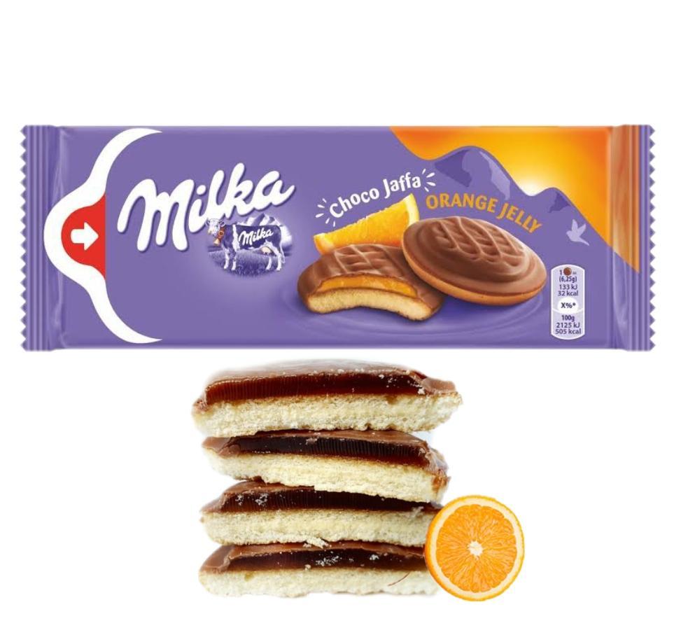 Milka Choco Jaffa Laranja 147g