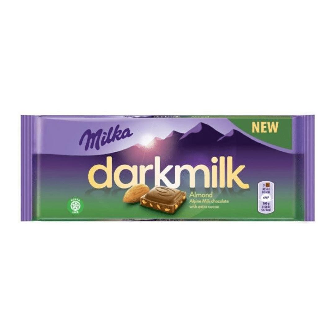 Milka Dark Milk Almonds 85g