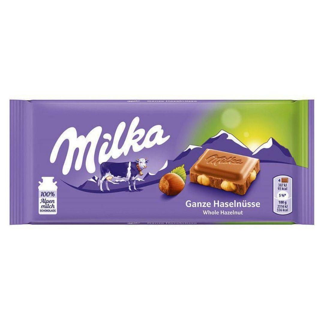 Milka Whole Hazelnut