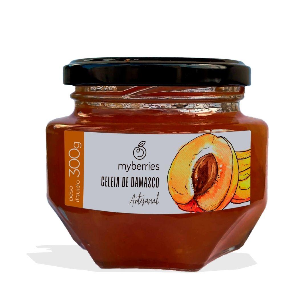 Myberries - Geleia de Damasco Artesanal 300g