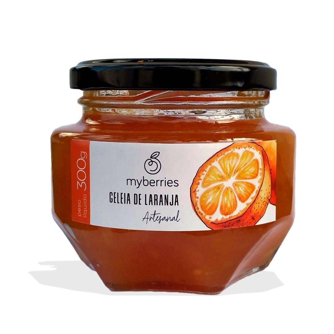 Myberries - Geleia de Laranja Artesanal 300g