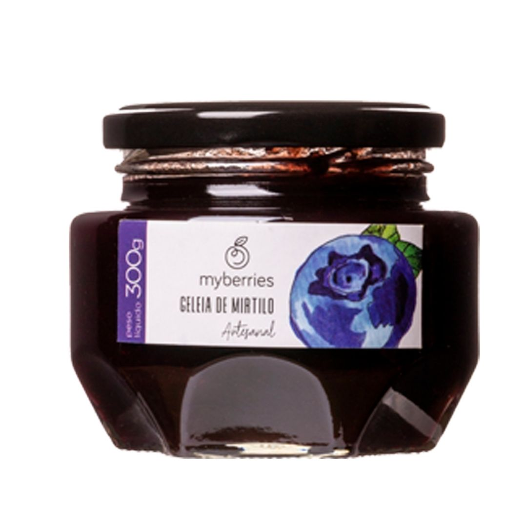 Myberries - Geleia de Mirtilo Artesanal 300g