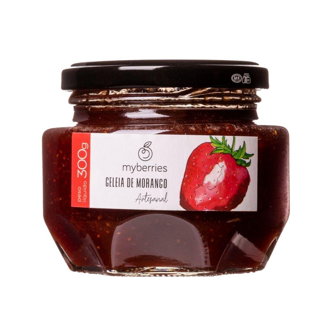 Myberries - Geleia de Morango Artesanal 300g