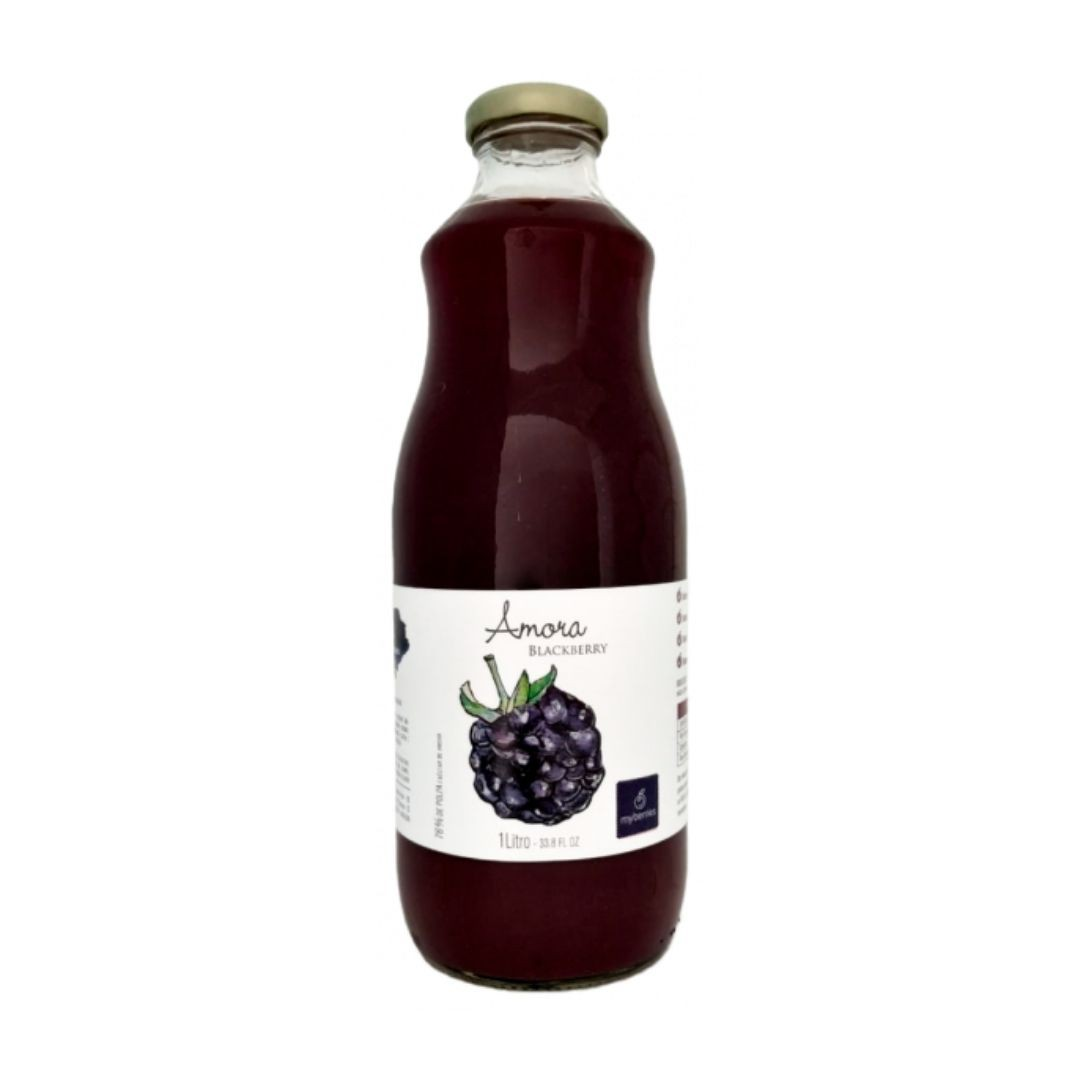 Myberries - Nectar de Amora 100% Natural 1 Litro