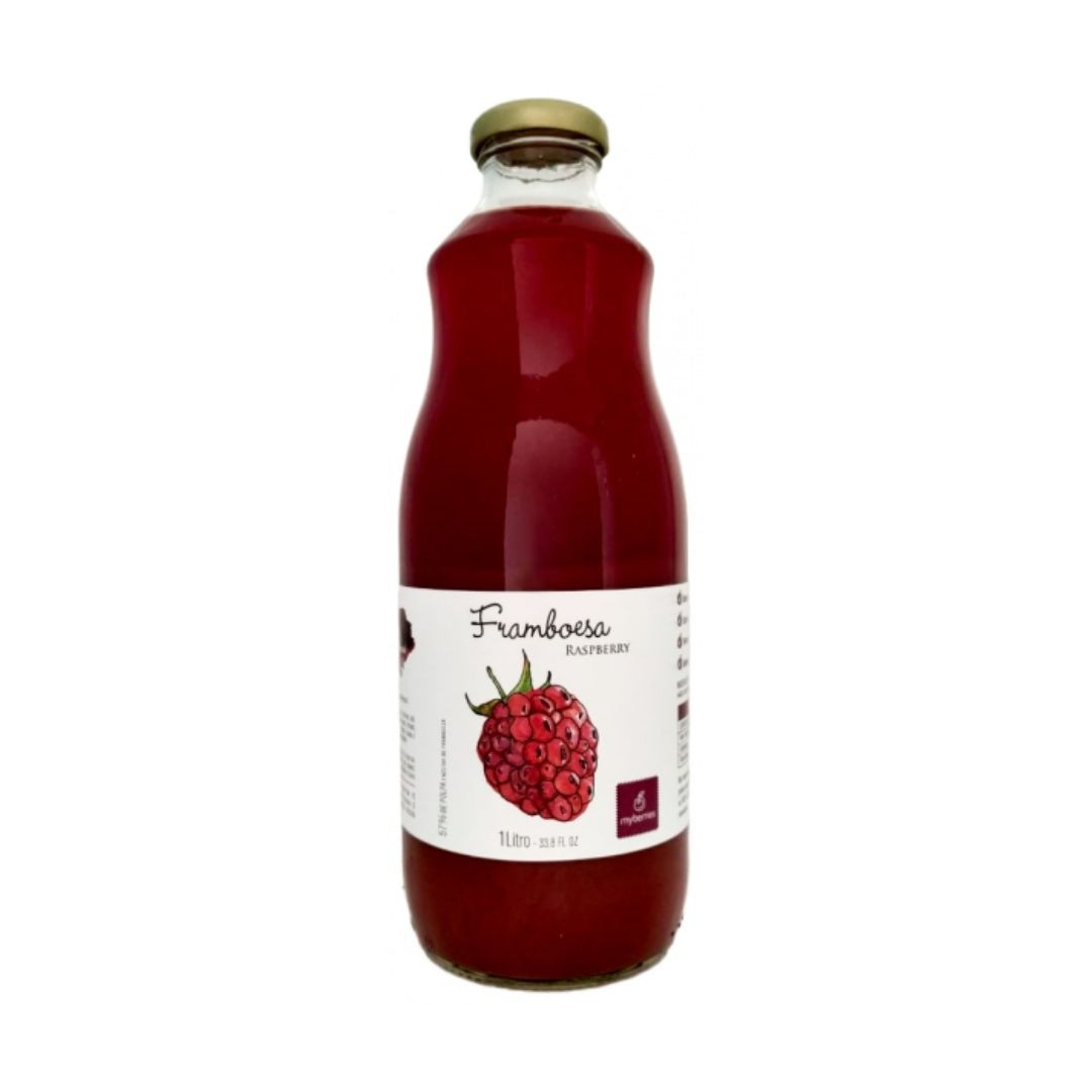 Myberries - Nectar de Framboesa 100% Natural 1 Litro