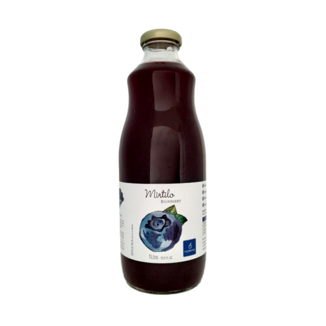 Myberries - Nectar de Mirtilo 100% Natural 1 Litro