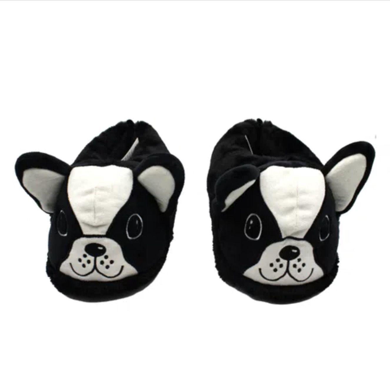 Pantufa Bulldog Francês