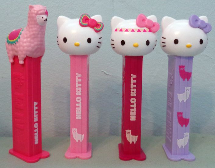 Pastilha Pez Blister -Hello Kitty Lhama