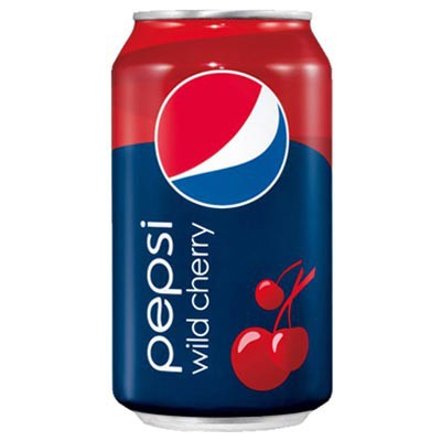 Pepsi Wild Cherry - Cola com Cereja 355ml