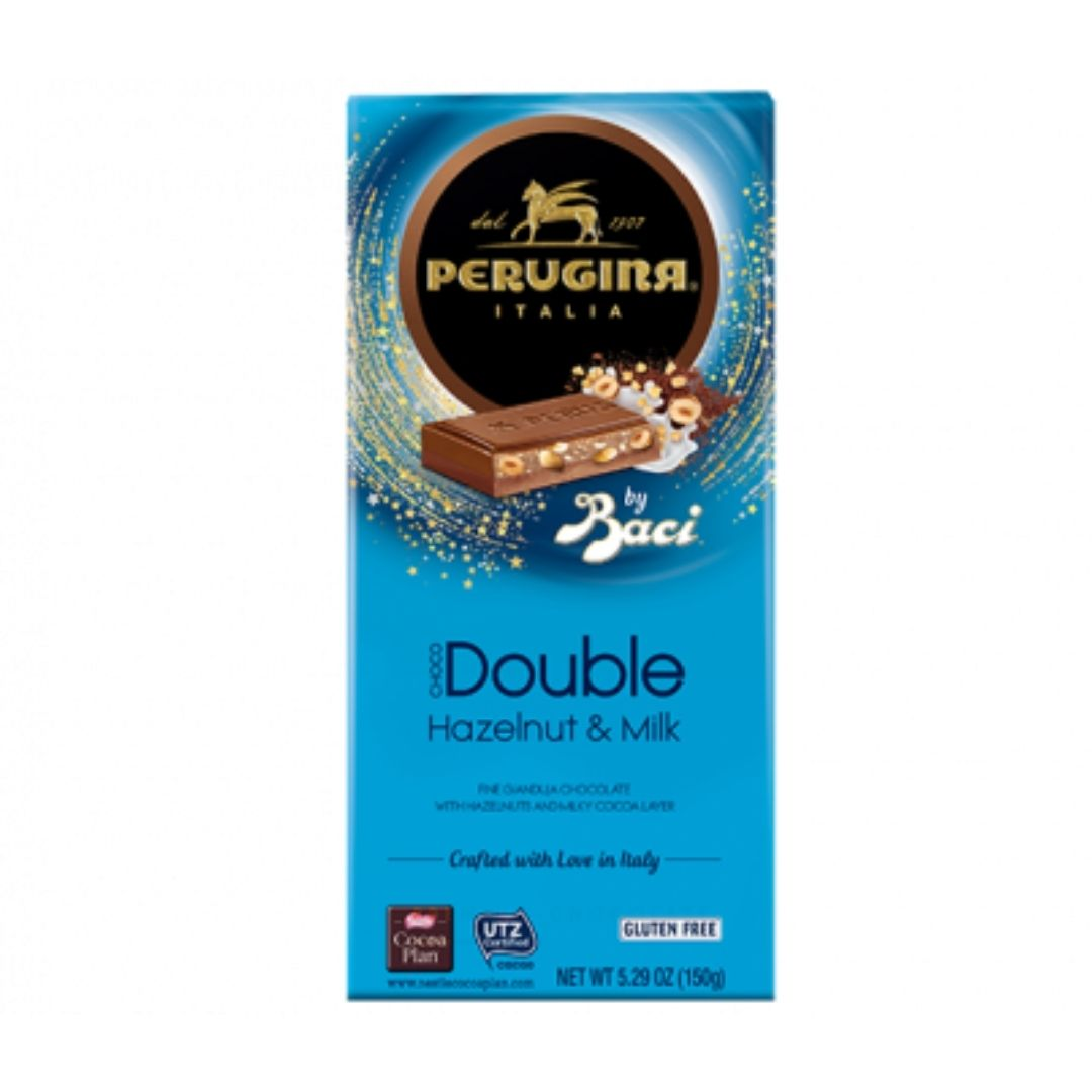Perugina - Baci Choco Double Hazelnut & Milk 150gr