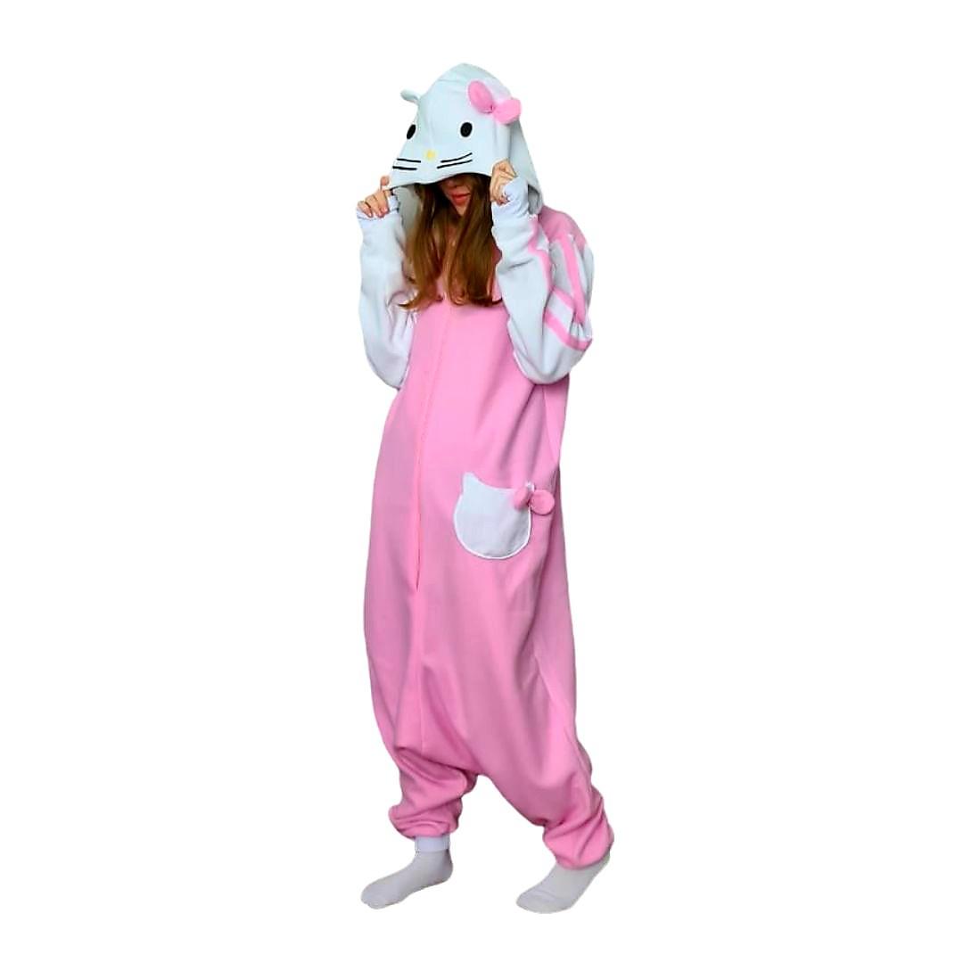 Pijama Unicórnio Infantil Adulto Macacão Kigurumi Excelente