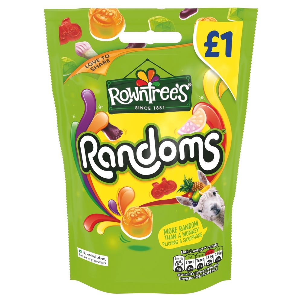Rowntree Randoms Pouch 120g