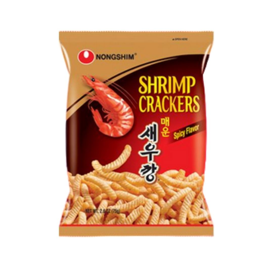 Salgadinho Camarão Hot Pepper - Shrimp Cracker 75g