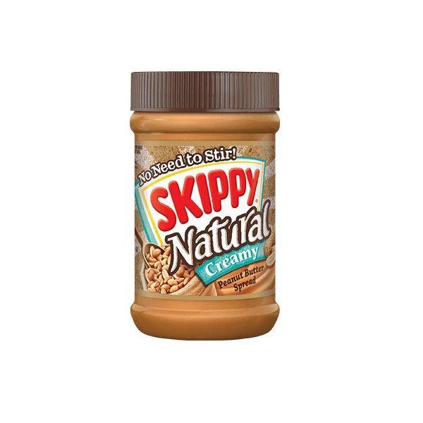 Skippy Creme de Manteiga de Amendoim Natural 425g