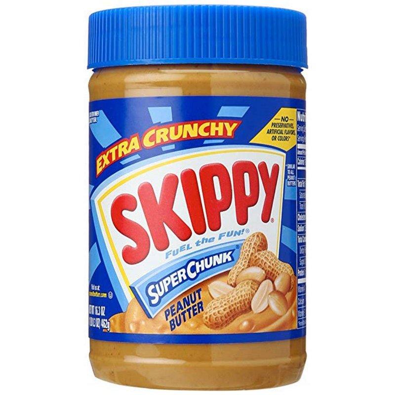 Skippy Creme de Manteiga de Amendoim Super Crunk 462g