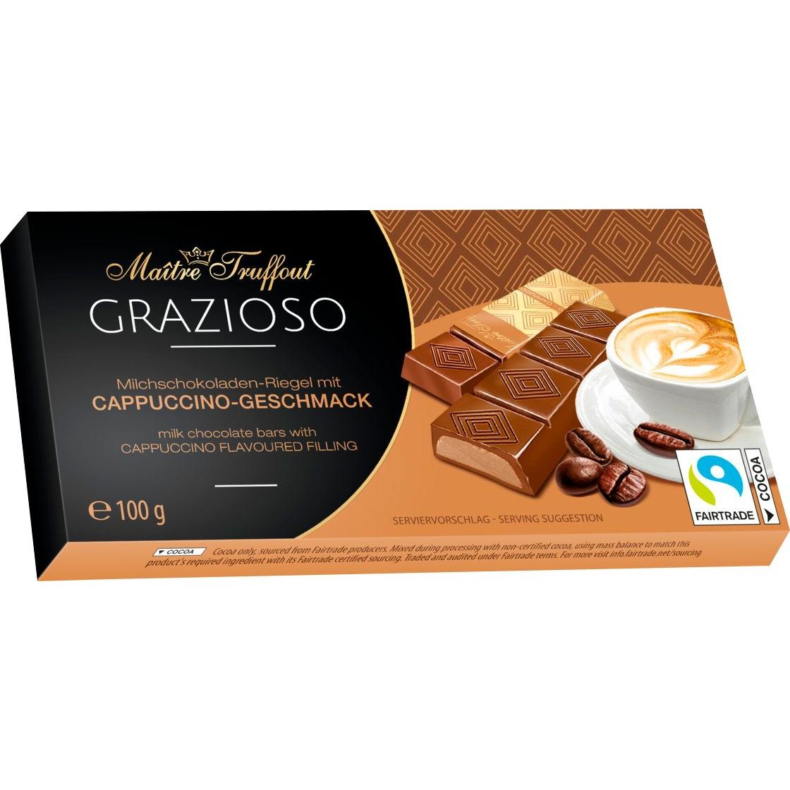 Tablete Chocolate Grazioso Capuccino 100gr