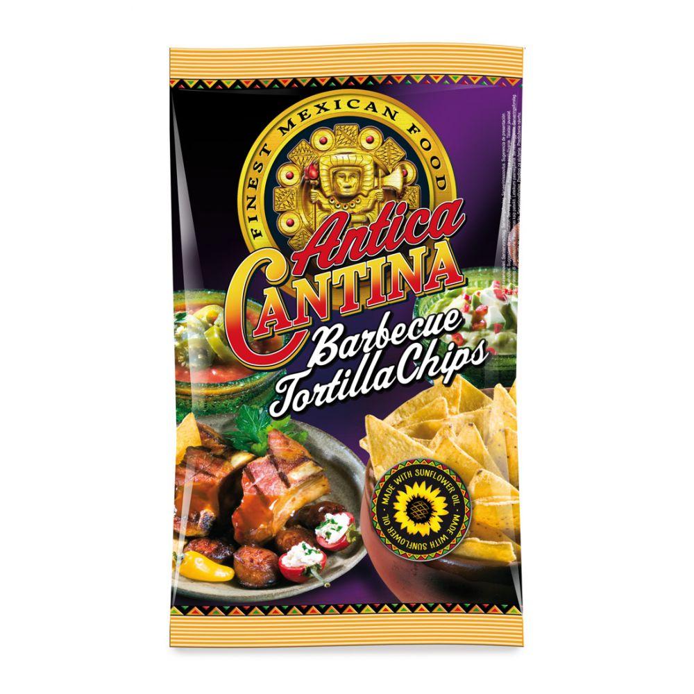 Tortilla Chips Barbecue 200gr Antica Cantina