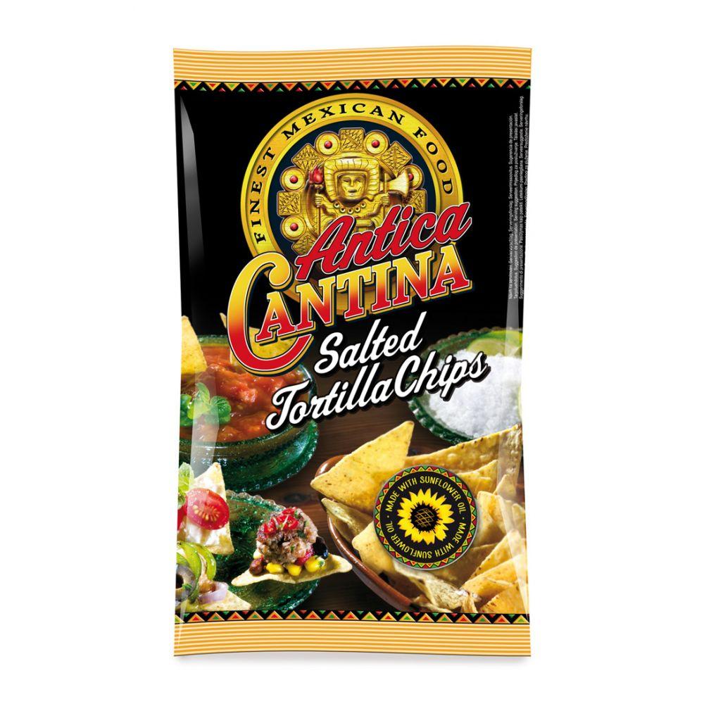 Tortilla Chips Salted 200gr Antica Cantina